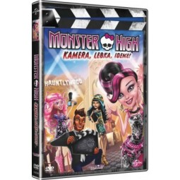 DVD Monster High: Kamera, lebka, jedem