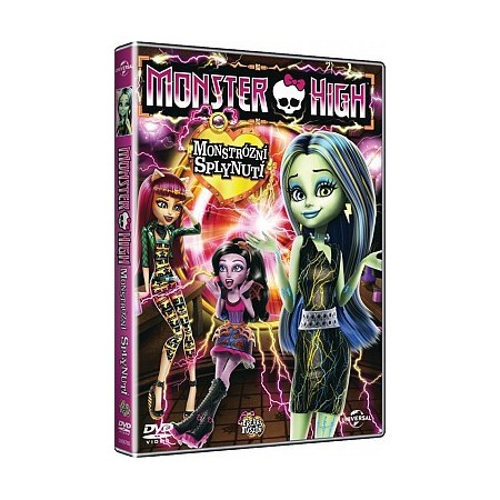 DVD Monster High Monstrózní splynutí