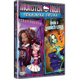 DVD Monster High Frikulínská dvojka
