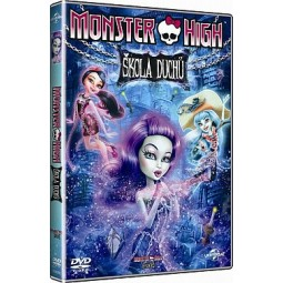 DVD Monster High: Škola duchů