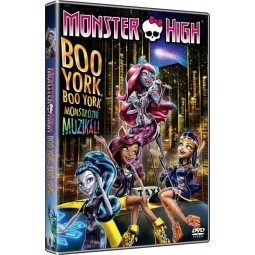 DVD Monster High: Boo York