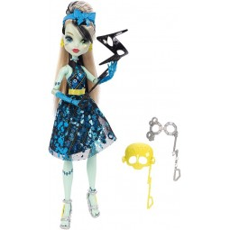 Mattel Monster High Monsterka s doplňky do fotokoutku Frankie Stein