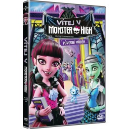 DVD Vítej v Monster High