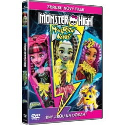 DVD Monster High Monstrózní napětí