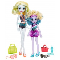 Monster High Sourozenci monsterky 2ks Lagoona