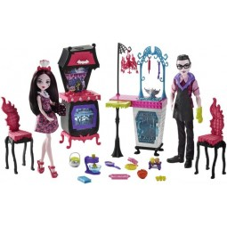 Monster High Draculaura a Drákula herní set