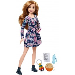 Barbie Chůva Popcorn set