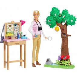 Mattel Barbie Entomoložka National Geografic herní set