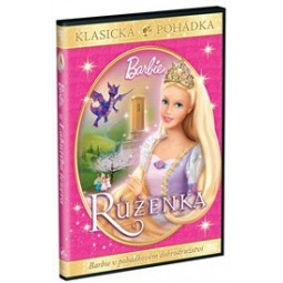 DVD Barbie Růženka