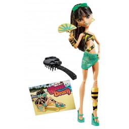 Mattel Monster High Plážové příšerky Cleo de Nil